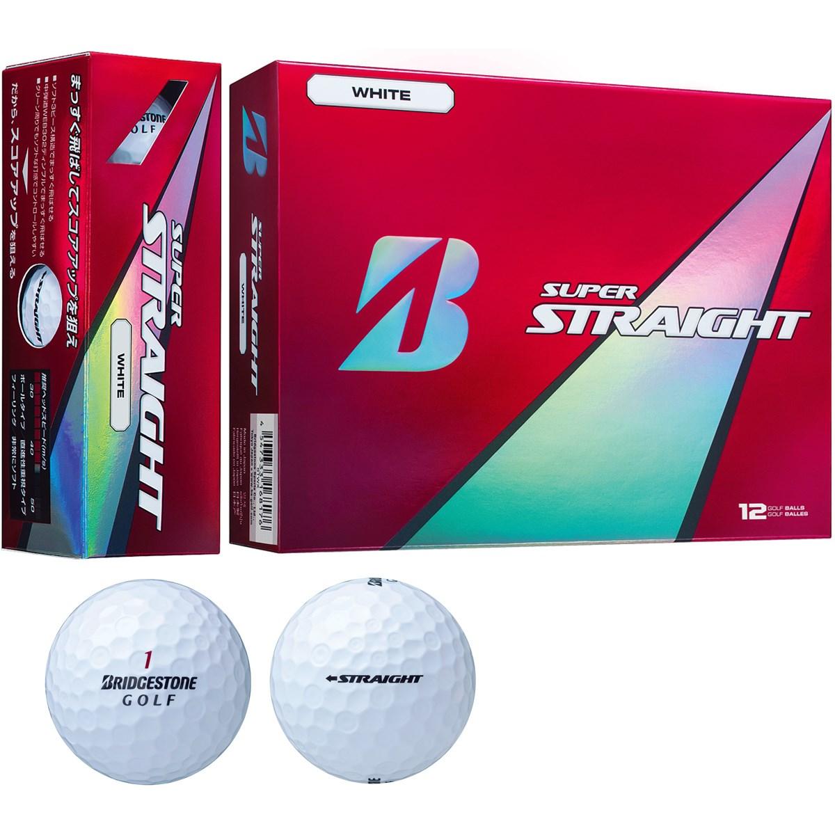 スーパーストレート ボール ブリヂストン super straight gdoゴルフショップ