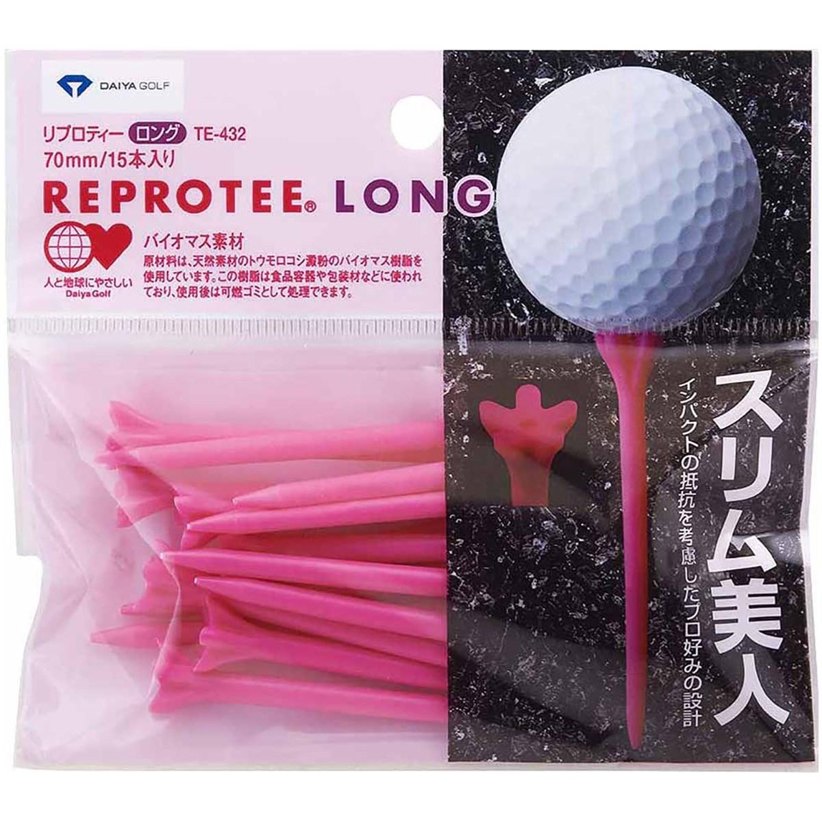 ダイヤゴルフ DAIYA GOLF リプロティー ロング70mm ピンク
