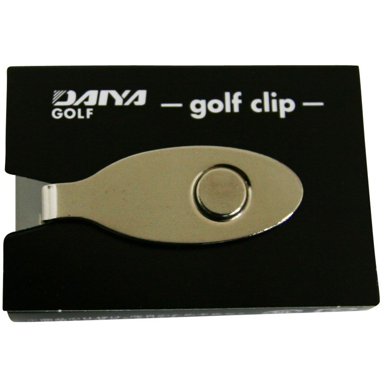 ダイヤゴルフ DAIYA GOLF ゴルフクリップ AS-441 シルバー