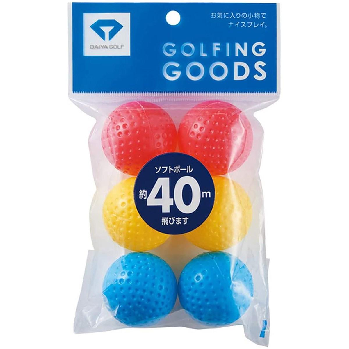 ダイヤゴルフ ソフトボール 6個入り AS-079
