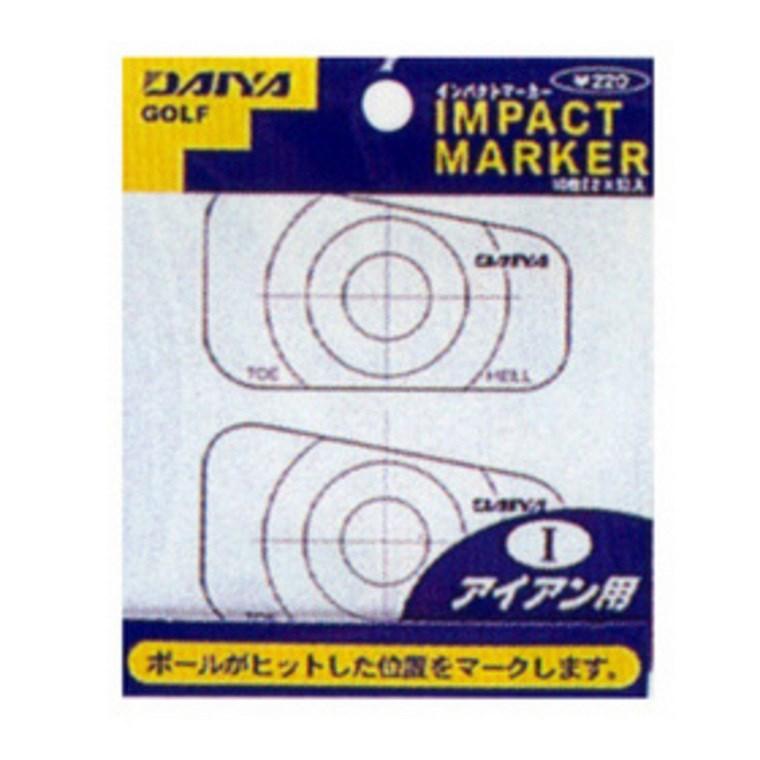 ダイヤゴルフ DAIYA GOLF インパクトマーカー アイアン用 AS-423