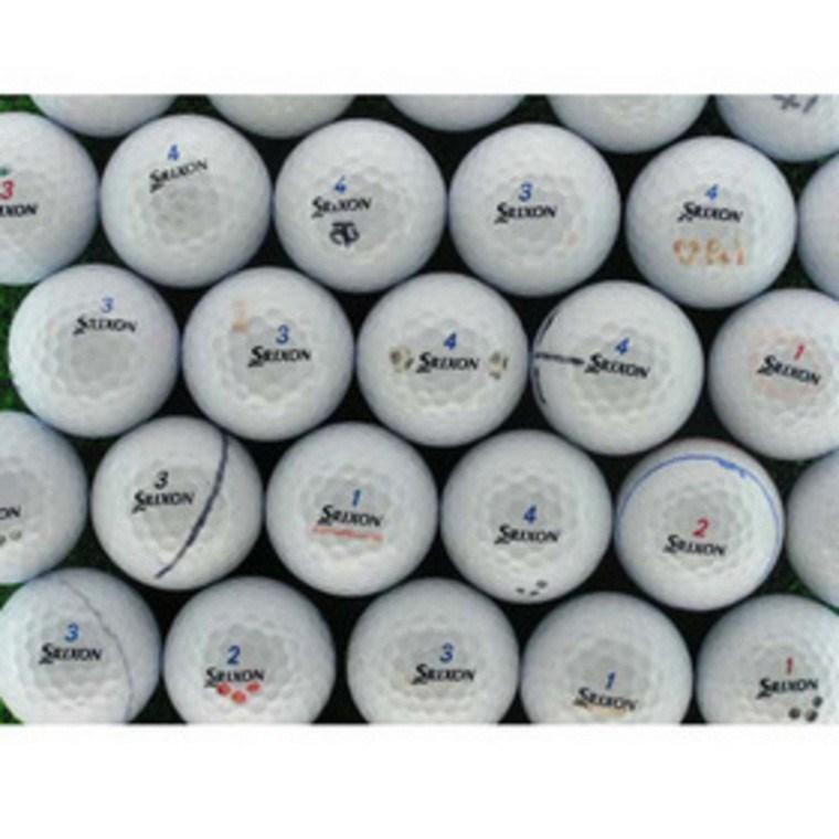 ロストボール Lost Ball メイホウゴルフ ロストボール マーカー入り スリクソン 15個セット 1パック(15個入り) ホワイト