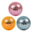<ゴルフダイジェスト> 広田ゴルフ フラッシュカラーボール 4球パック画像