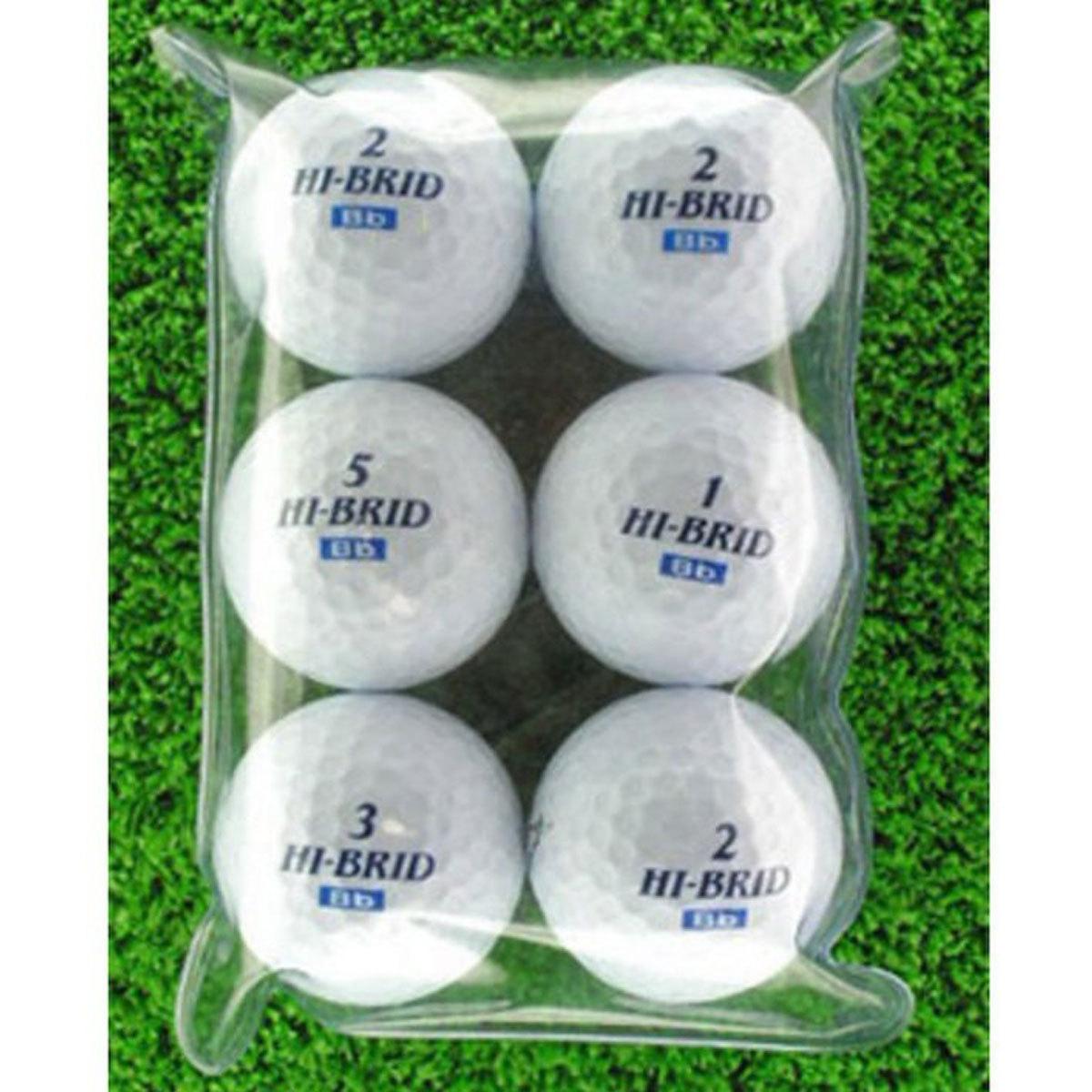メイホウゴルフ ロストボールBランク6個入り10パック60個セット