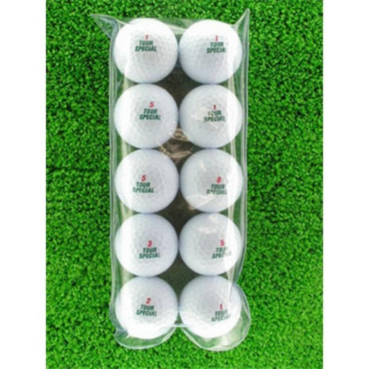 メイホウゴルフ ロストボールCランク10個入り10パック100個セット