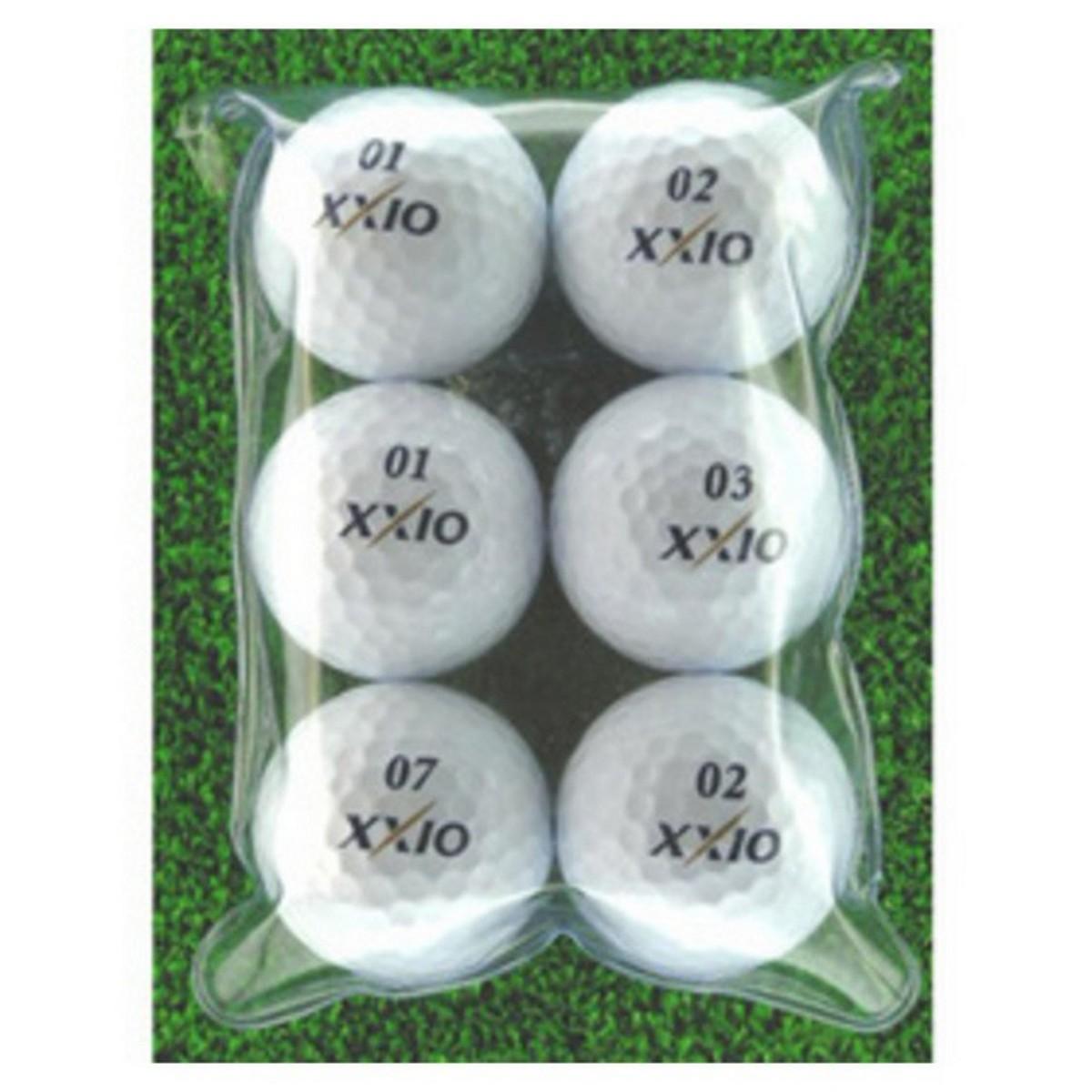 メイホウゴルフ ロストボール ゼクシオXD 6個入り2パック12個セット