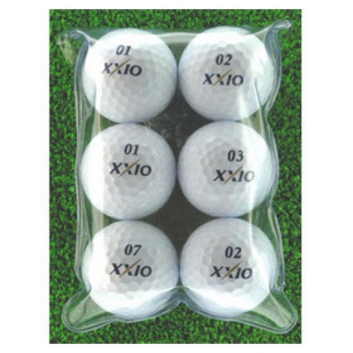 ロストボール メイホウゴルフ ロストボール ゼクシオXD 6個入り2パック12個セット