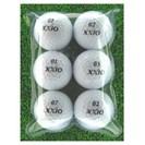 <ゴルフダイジェスト> [値下げしました] メイホウゴルフ ロストボール ゼクシオXD 6個入り2パック12個セット画像