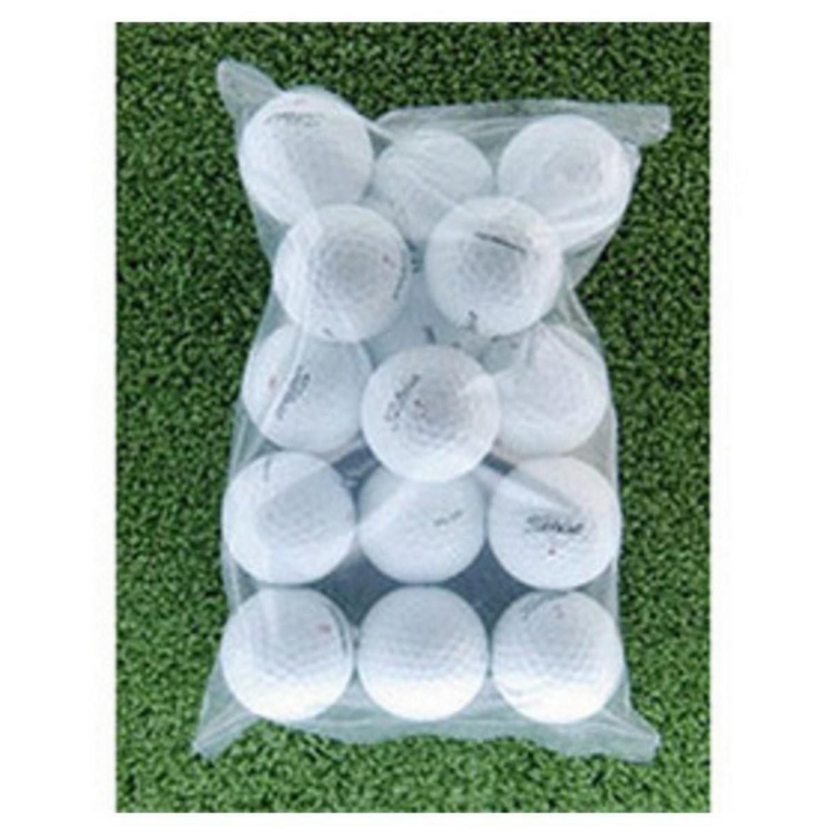 メイホウゴルフ ロストボール タイトリスト 小袋15球入り5パック75個セット