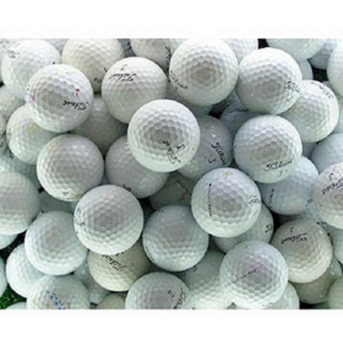 メイホウゴルフ ロストボール プロV1練習用ボール150個セット