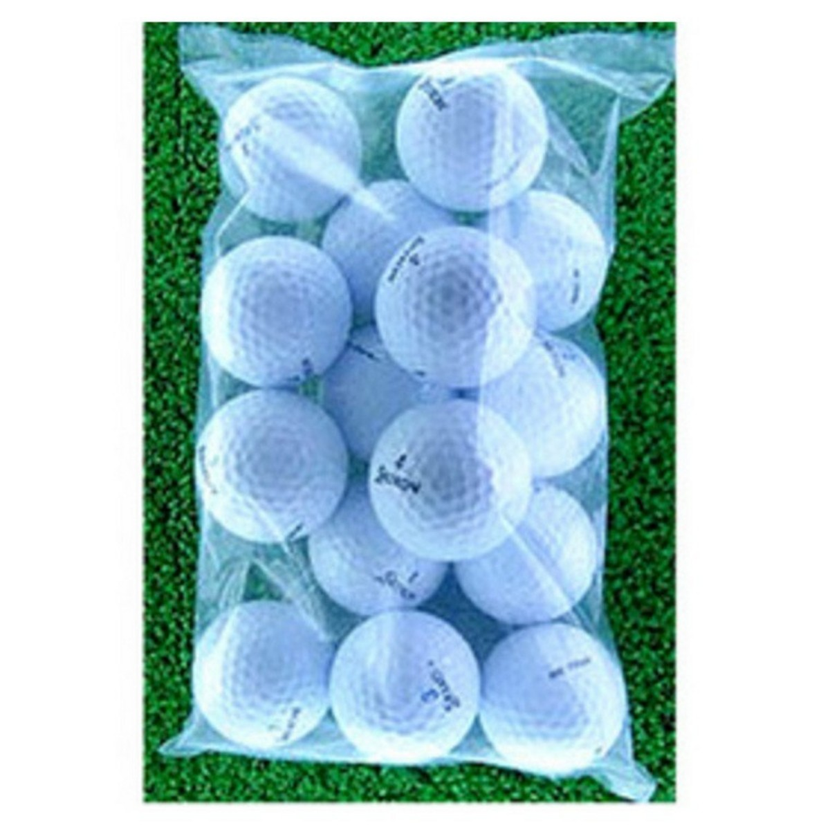 メイホウゴルフ ロストボール スリクソン小袋15個入り4パック60個セット