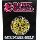 <ゴルフダイジェスト> ワンピース ゴルフ マグネットマーカー ロー IPOP0102H画像