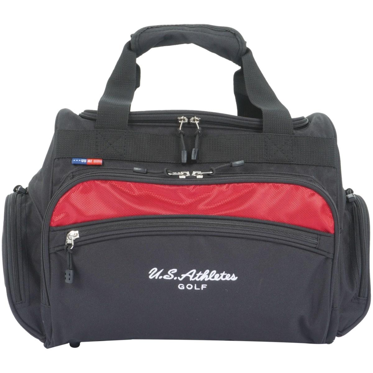 USアスリート ボストンバッグ USBB-2203 ブラック/レッド