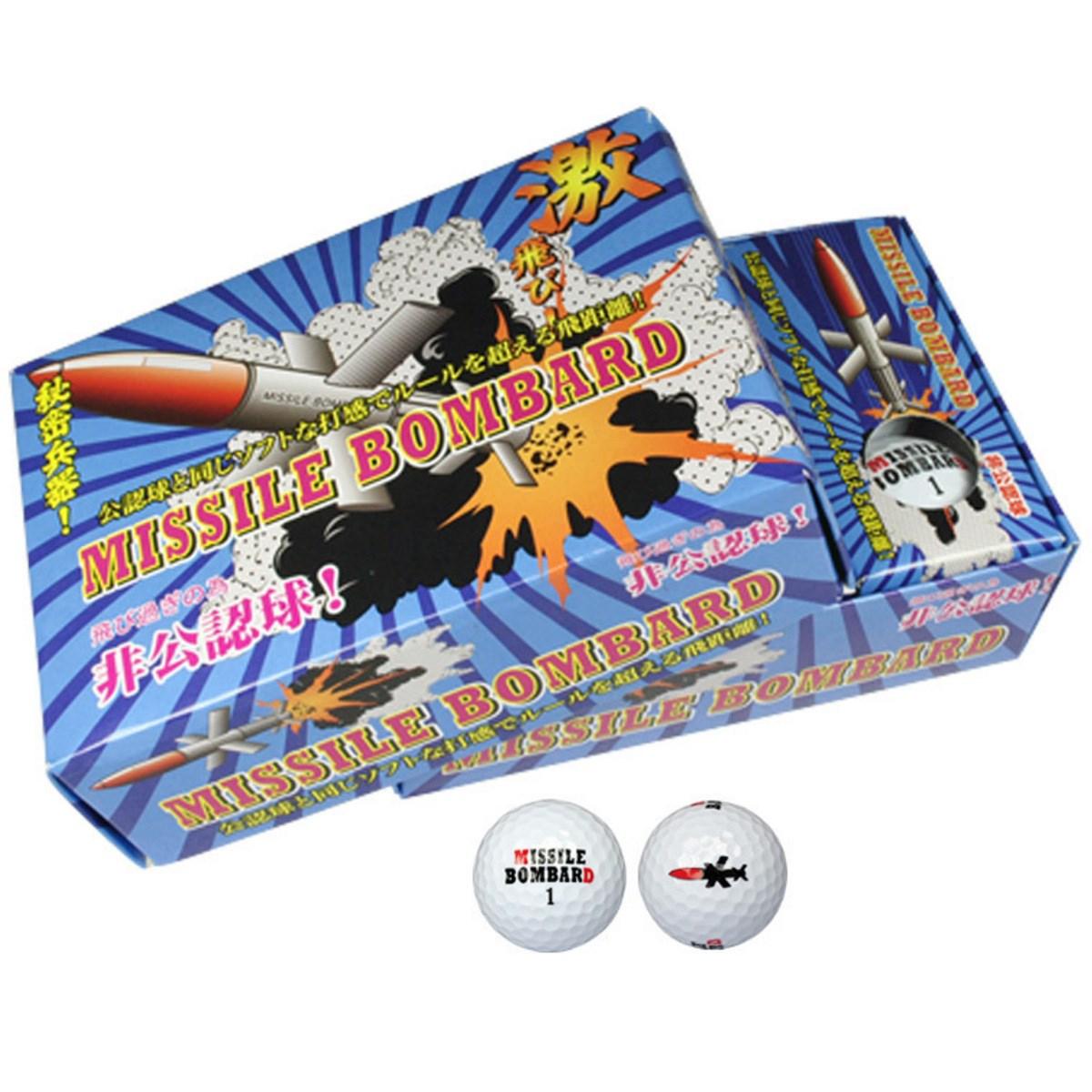 その他メーカー ミサイルボンバード 非公認球6P MBBA-2116【非公認球】
