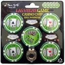 <ゴルフダイジェスト> ミスターゴルフ ラスベガスゲーム カジノチップ ボールマーカー画像