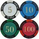 <ゴルフダイジェスト> ホクシン交易 ポーカーチップマーカー W10CC001 ゴルフ画像
