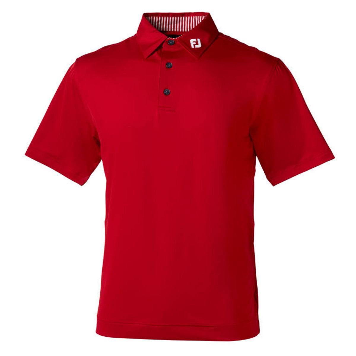 ソリッド半袖ポロシャツ