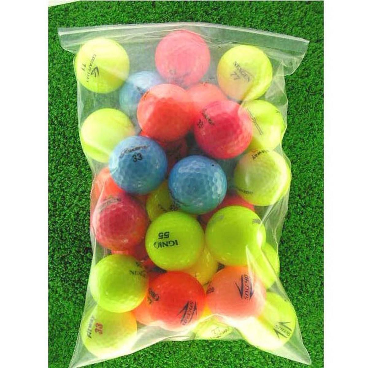 ロストボール Lost Ball メイホウゴルフ ロストボール カラーボール30個入り2パック60個セット 30個入り2パック(60個セット) イエロー、オレンジ、ブルー、グリーン、レッド、ブラック等 【非公認球】