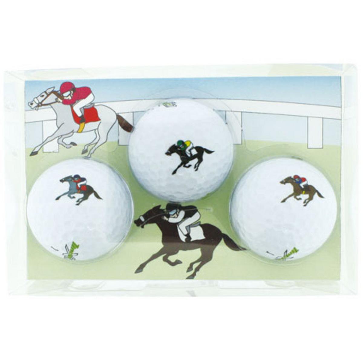 ホクシン交易 競走馬ボール 3個セット