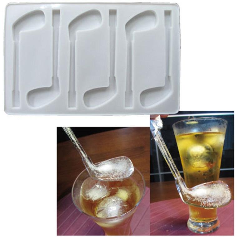 ホクシン交易 ゴルフクラブアイスマドラー製氷皿