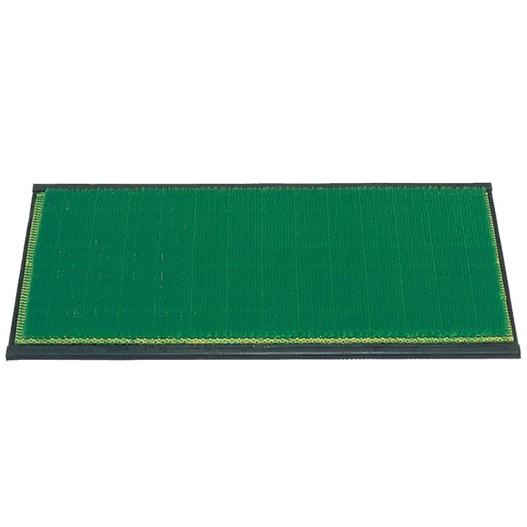 ライト Lite シバーマットゴム付カール芝 M-27 600×270×21mm グリーン