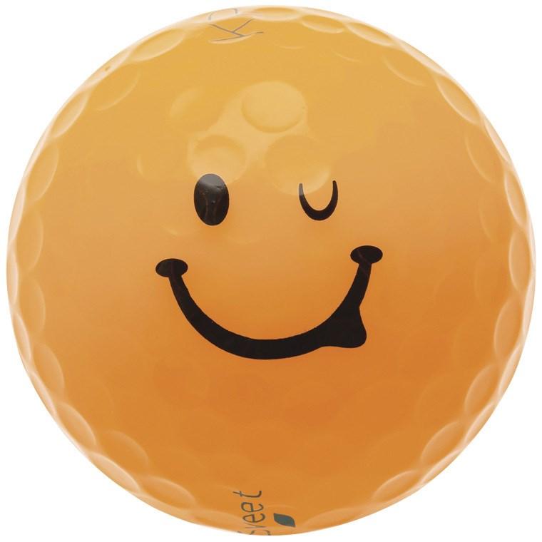 キャスコ KIRA KIRA SWEET キャラボール 1ダース(12個入り) オレンジ レディス