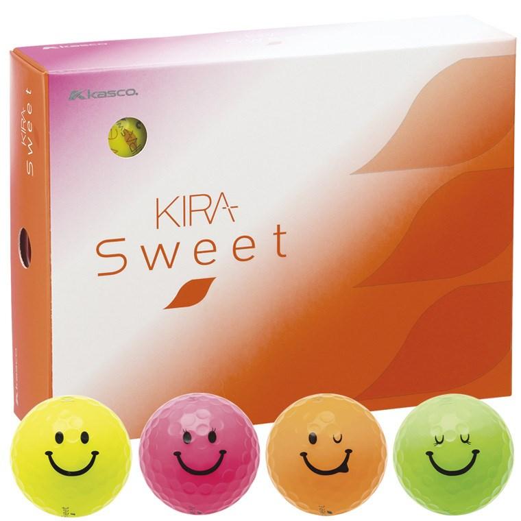キャスコ KIRA KIRA SWEET キャラボール 1ダース(12個入り) 4色入り レディス