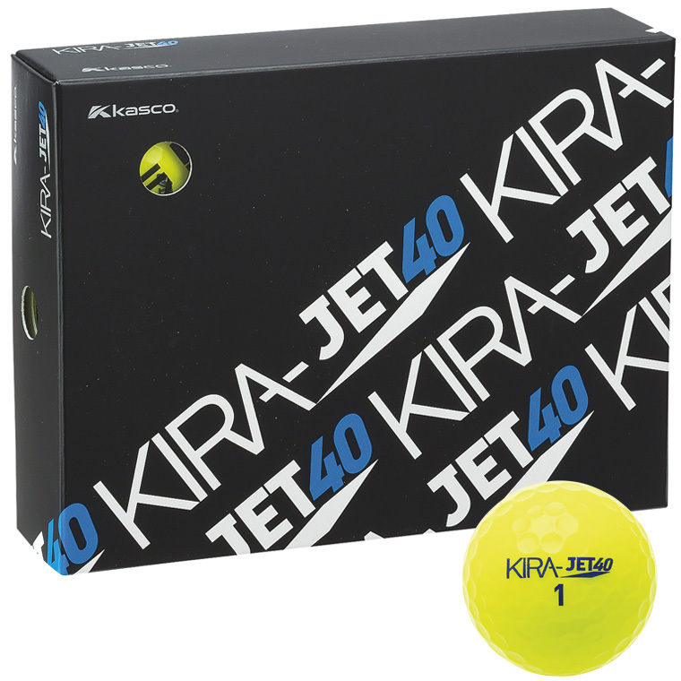 KIRA JET 40 アベレージ向けボール 【オンネームサービス有り】(文字色:黒のみ)