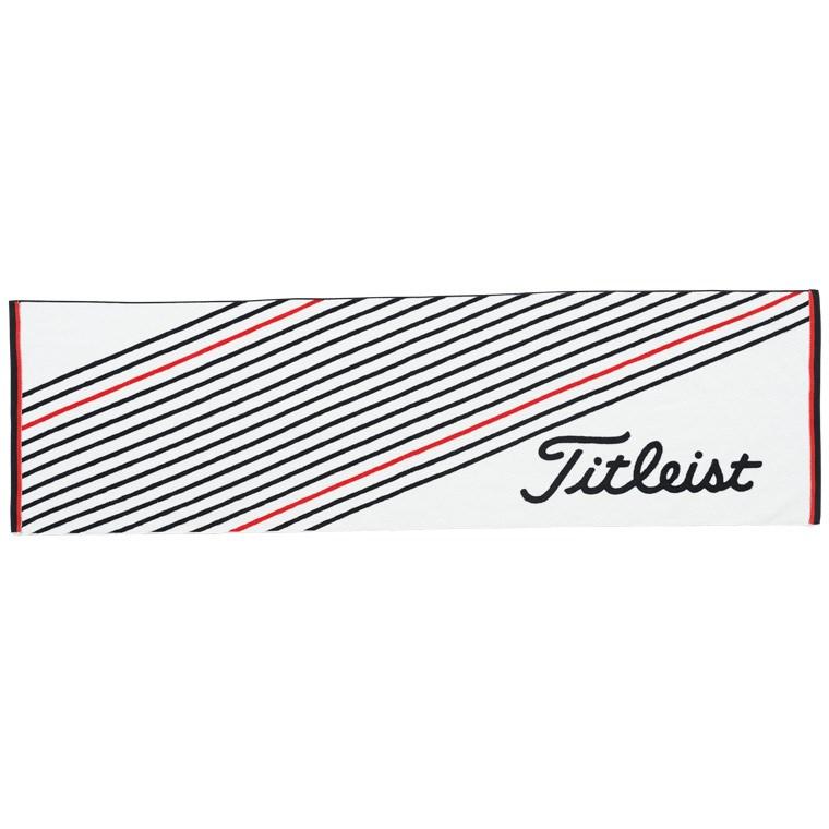 タイトリスト TITLEIST スポーツタオル AJTWS41 ホワイト×ブラック