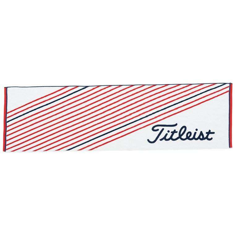 タイトリスト TITLEIST スポーツタオル AJTWS41 ホワイト×レッド