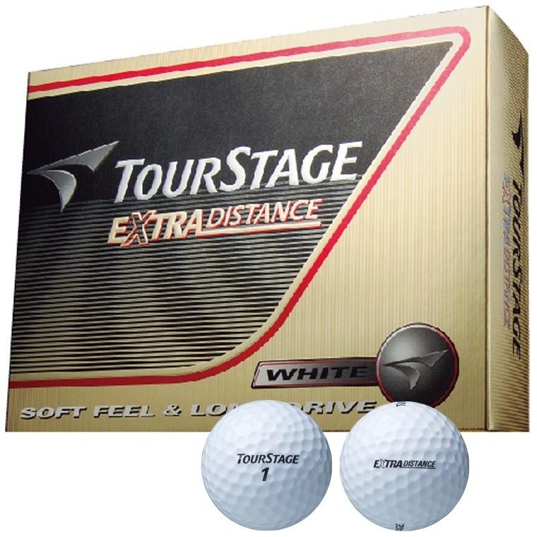 ブリヂストン TOURSTAGE エクストラディスタンス ボール 5ダースセット 5ダース(60個入り) ホワイト