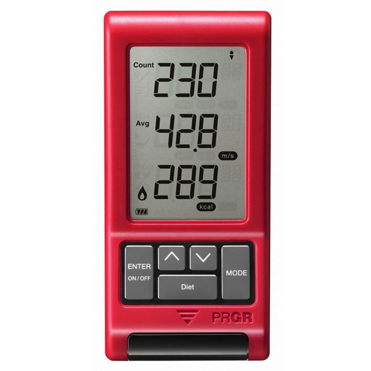 プロギア(PRGR) RED EYES POCKET HS-110 ヘッド・ボールスピード・距離測定器