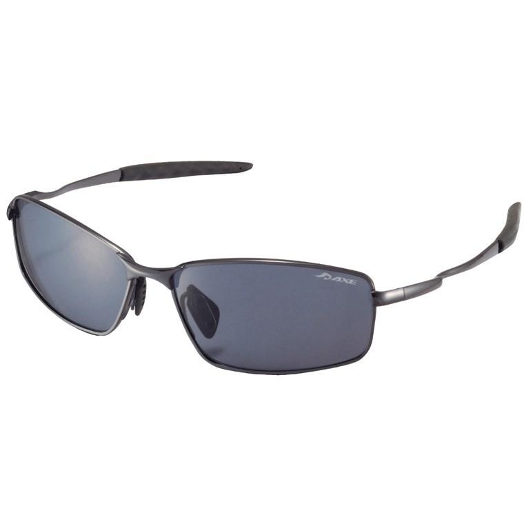 アックス AXE ポラライズドスタイル サングラス ASP-109 レンズ:スモーク/フレーム:ガンメタル