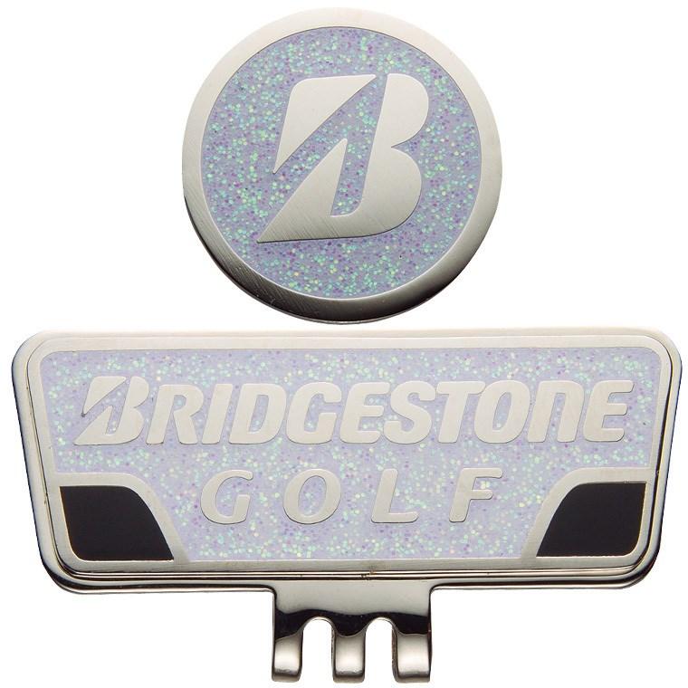 ブリヂストン BRIDGESTONE GOLF キャップマーカー GAG401 ホワイト