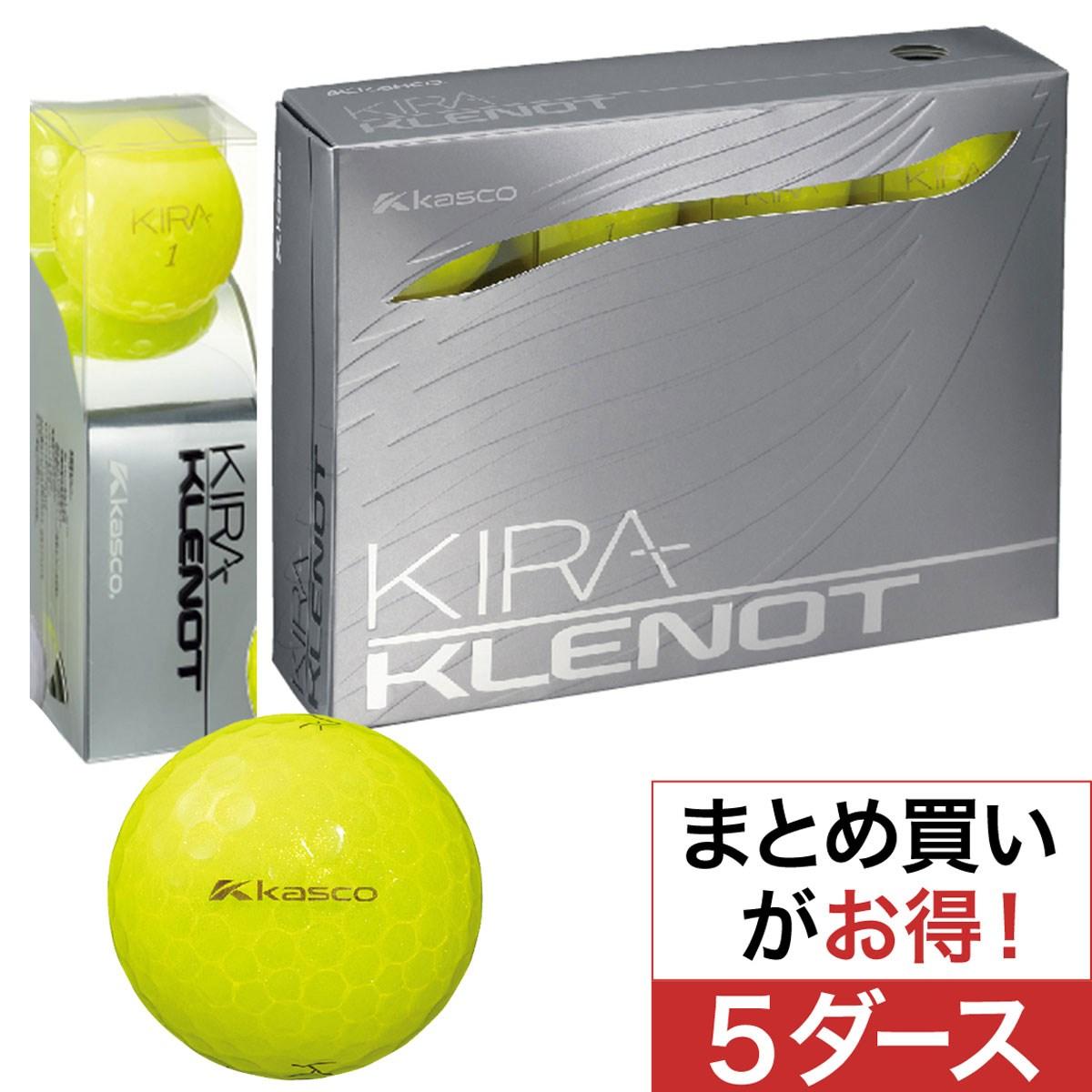 キャスコ(KASCO) KIRA クレノ ボール 5ダースセット