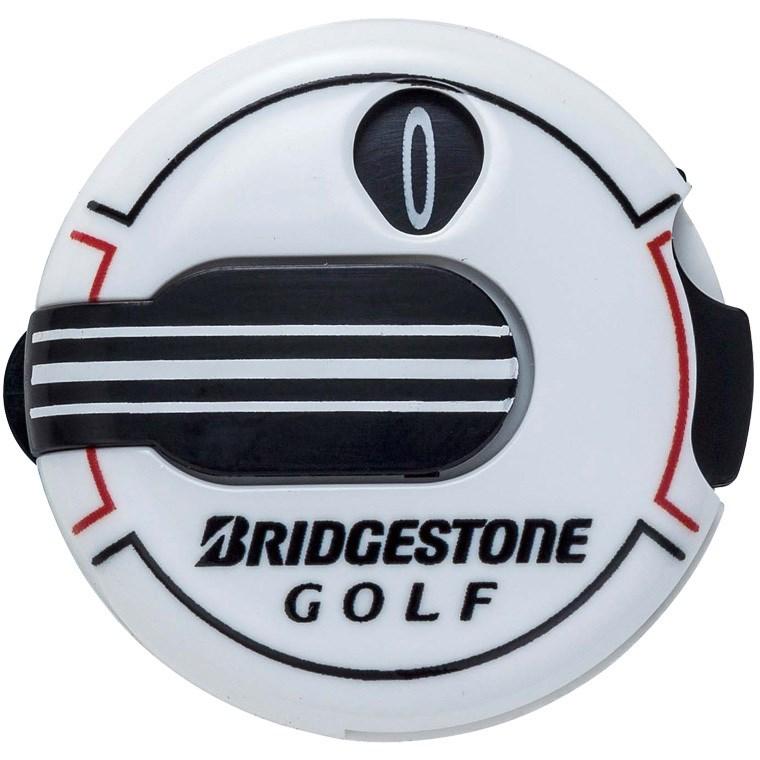ブリヂストン BRIDGESTONE GOLF スコアカウンター GAG408 ホワイト