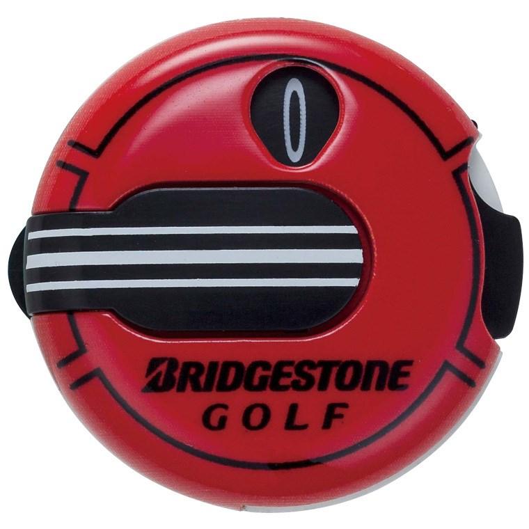 ブリヂストン BRIDGESTONE GOLF スコアカウンター GAG408 レッド