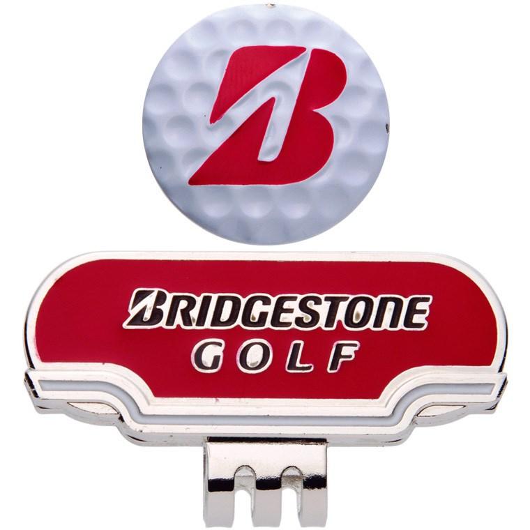 ブリヂストン BRIDGESTONE GOLF キャップマーカー レッド
