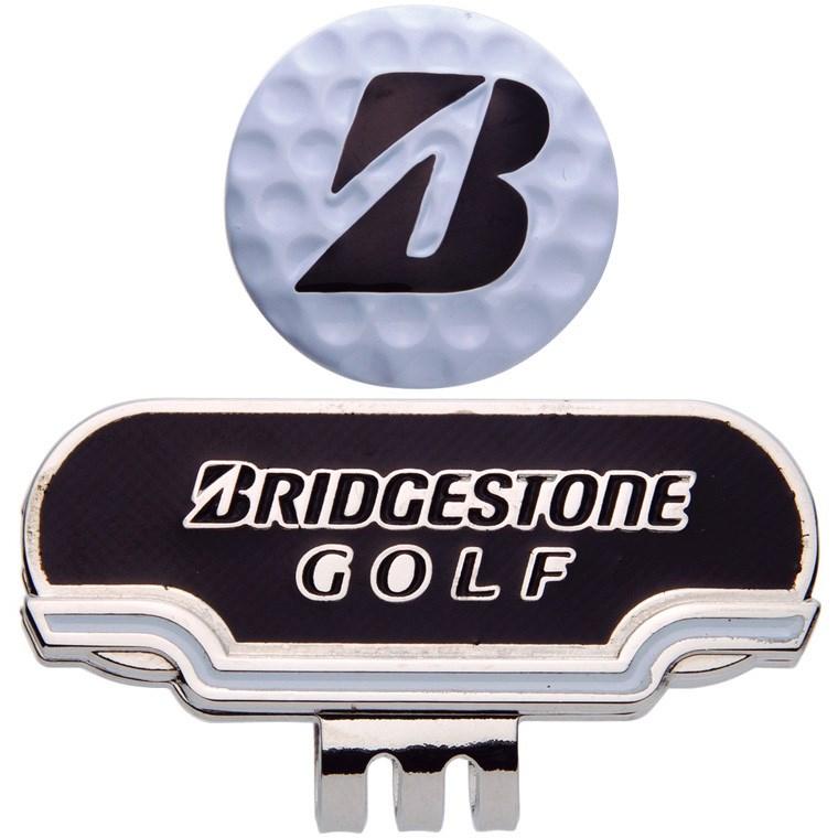 ブリヂストン BRIDGESTONE GOLF キャップマーカー ブラック