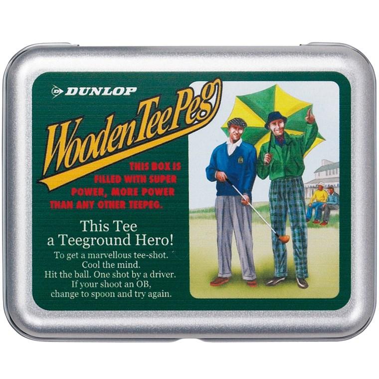 ダンロップ(DUNLOP) 缶入りウッドティー