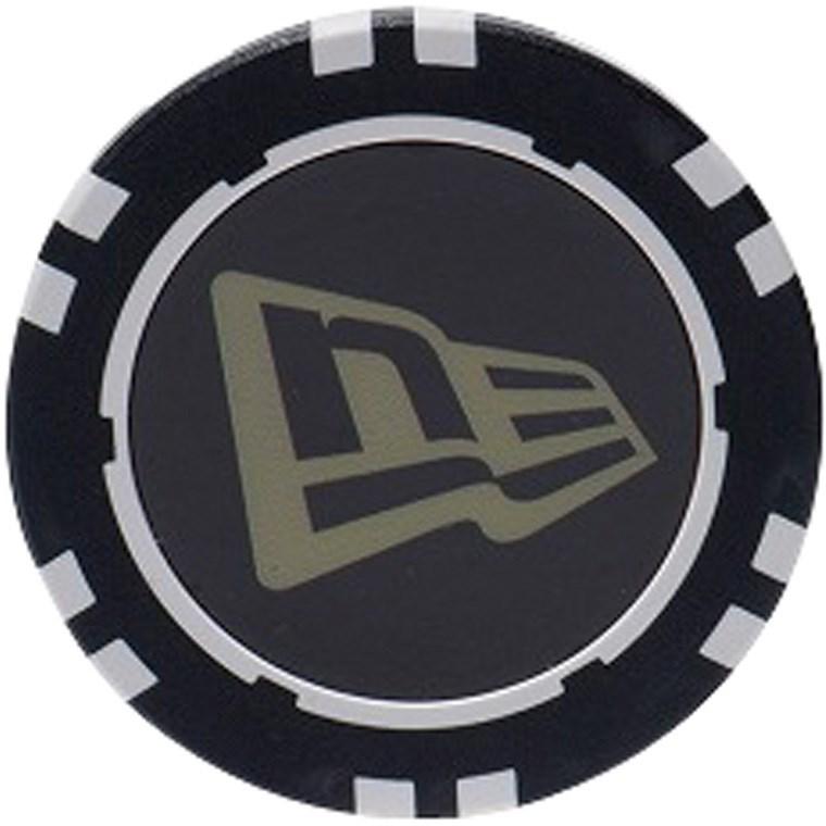ニューエラ NEW ERA NE FLAG チップマーカー ゴールド