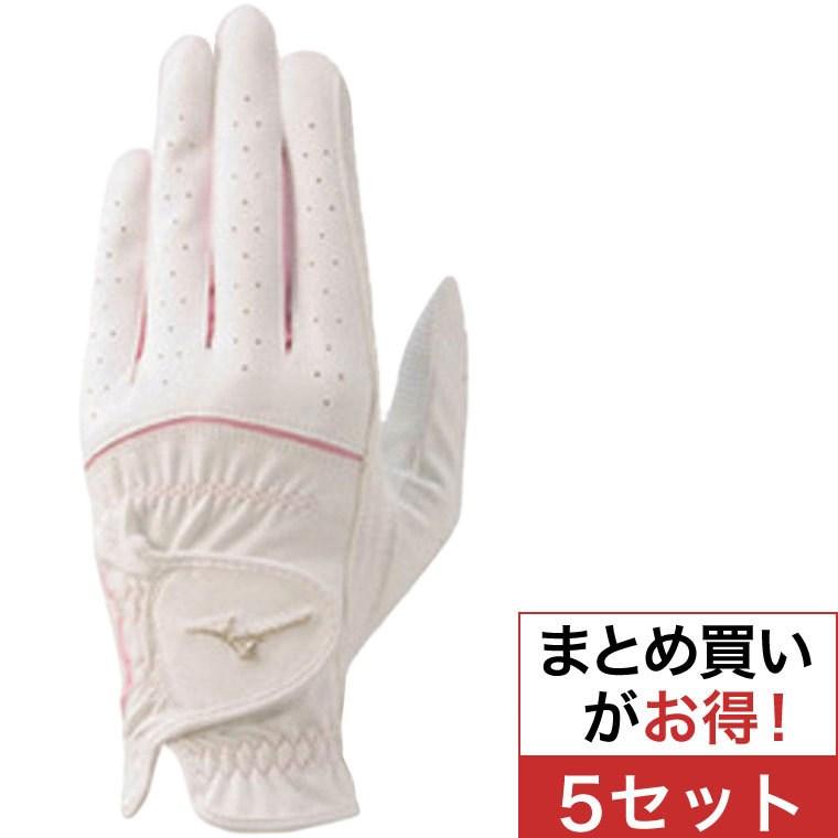 ミズノ(MIZUNO) efil手袋 両手用 45GH93112 5セットレディス