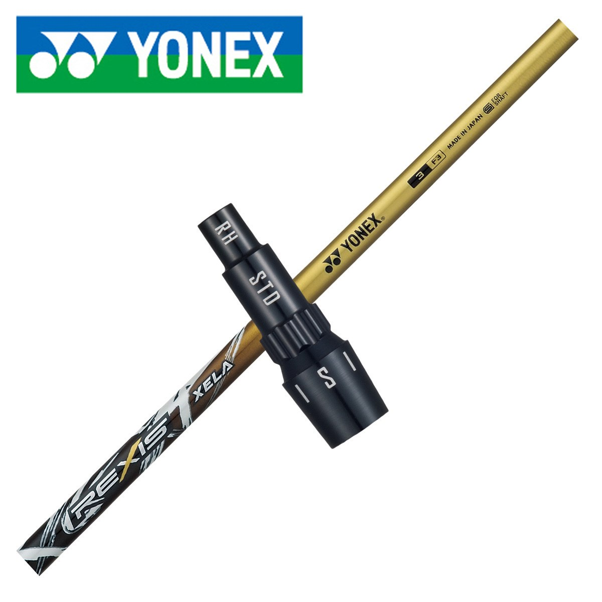 ヨネックス(YONEX) 【EZONE Tri-G ドライバー専用シャフト】レクシス キセラ(ゴールドカラー)