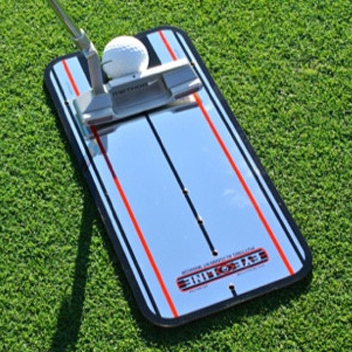 アイラインゴルフ EYELINE GOLF クラシック パッティングミラー スモール シルバー