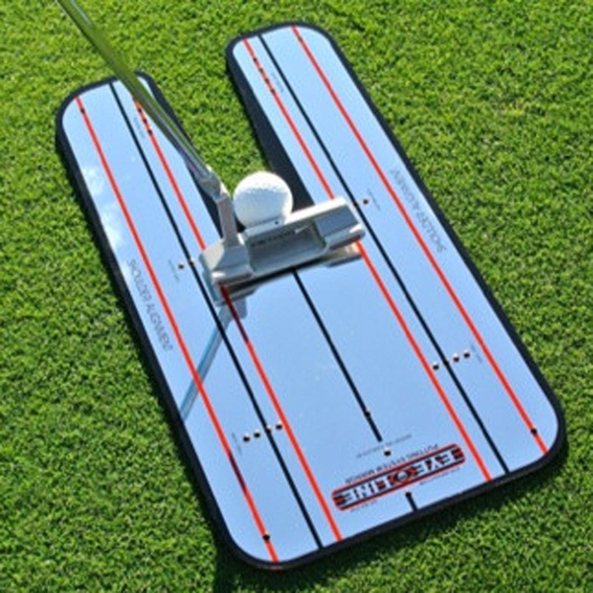 アイラインゴルフ EYELINE GOLF クラシックパッティングミラー ホワイト