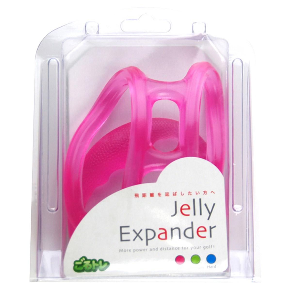 ごるトレ ジェリーエキスパンダー ストレッチ器具 ソフト ピンク