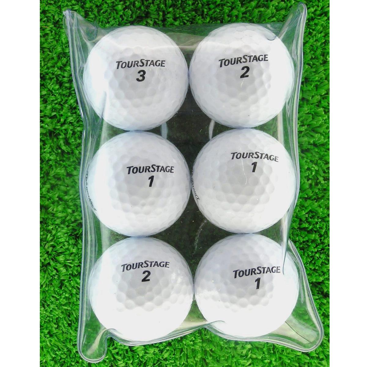 メイホウゴルフ ロストボール ツアーステージ EXTRA DISTANCE 6個入り4パック24個セット