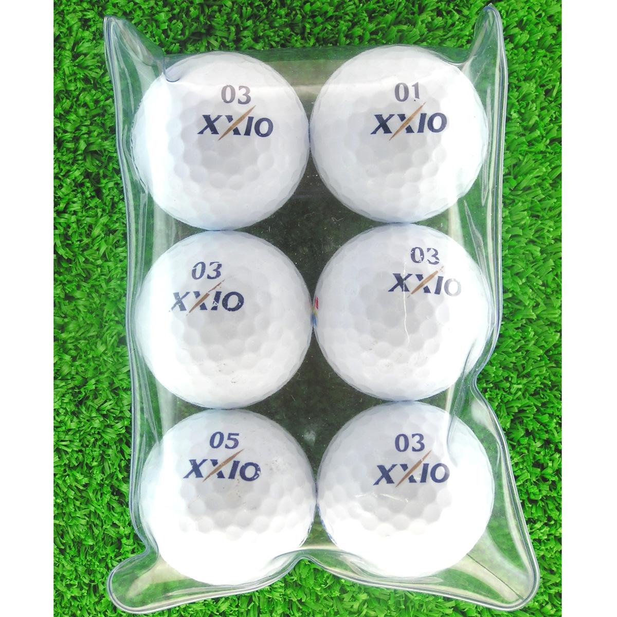 メイホウゴルフ ロストボール ゼクシオ スーパー XD PLUS 6個入り2パック12個セット