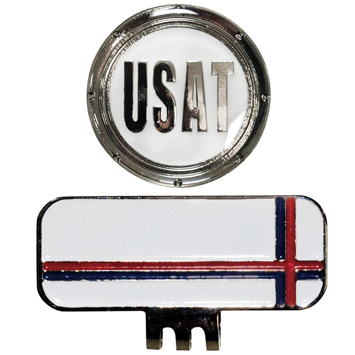 U.S.Athletes クリップマーカー ホワイト