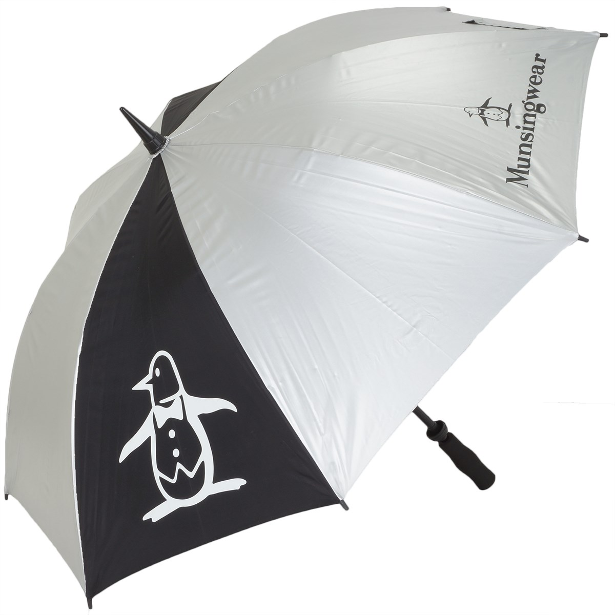 マンシングウェア Munsingwear 全天候傘 シルバー N500